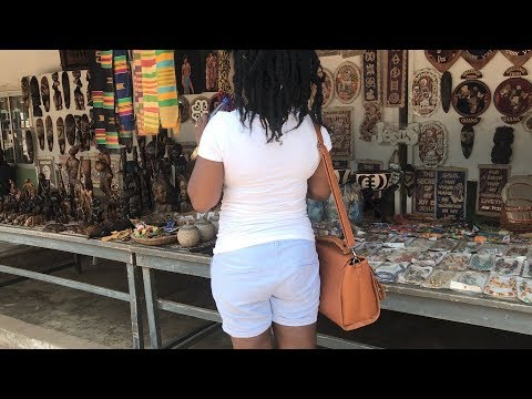 Ghana vlog 2017 #24 || Going to ArtCentre || Accra HighStreet || He Thinks i'm From NewYork || Adede