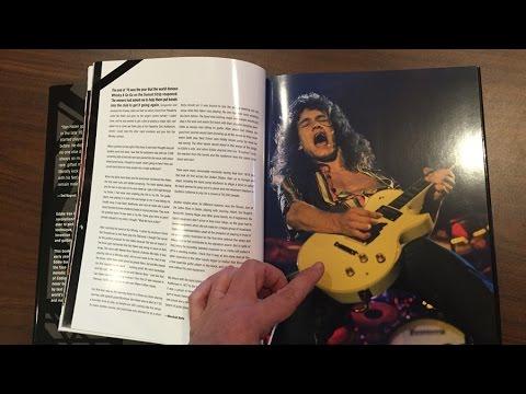Eddie Van Halen By Neil Zlozower A Look Inside The Book Youtube