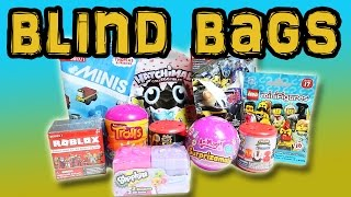 MIXED BLIND BAGS ROBLOX, HATCHIMALS, LEGO - PLUS Little Kelly - Friends ToysReview pour les enfants