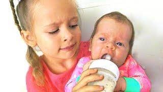 مايا وماري   أريد أن أكون مثل أمي - أغنية الأطفال