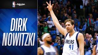 【祝!43歳🎂🎉】ダーク・ノビツキー:最後の40得点ゲーム(2016年3月20日)|NBAハイライト【NBA Rakuten】