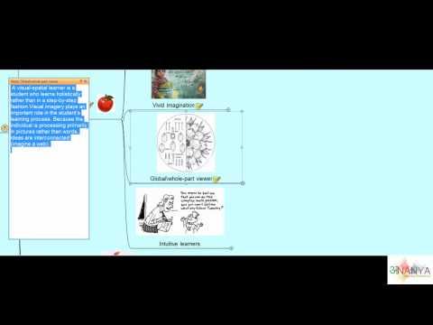 Spatial Characteristics visual learners