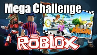 Roblox - Mega Challenge Gameplay from the Xbox One - 1080-60fps