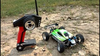 Super Fast Crazy Small 4WD RC Buggy (70kph In 45$) - UNBOX & TEST ! RC Adventure.