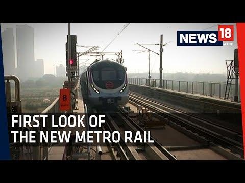 First look of Delhi Metro's Magenta line | Inside all new Delhi Metro Magenta Line