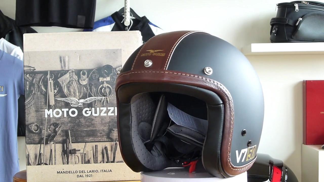 moto guzzi jet helm v7 iii 50 anniversario youtube