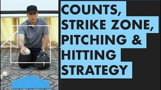 Understanding the Count, Locations, Strike Zone and Pitch Selection - Pitching & Hitting Strategy