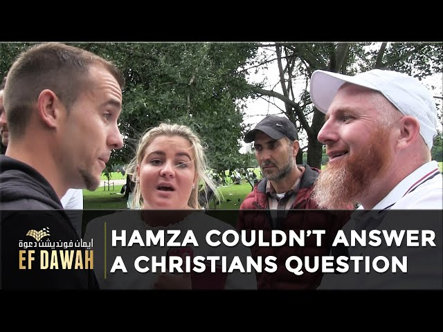 Hamza 'Couldn't' Answer a Christians Question