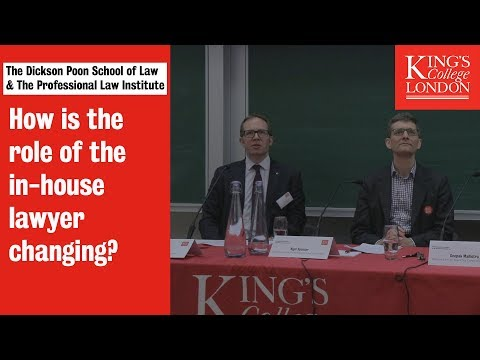 The Future Of Legal Practice: The Role Of The In-house Lawyer