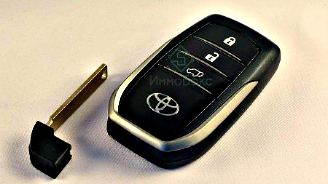 Как заменить батарейку в автомобильном ключе Тойота Кемри