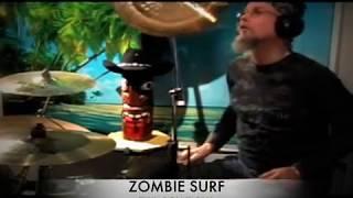 Zombie Surf (Tiki Cowboys drum session recording)