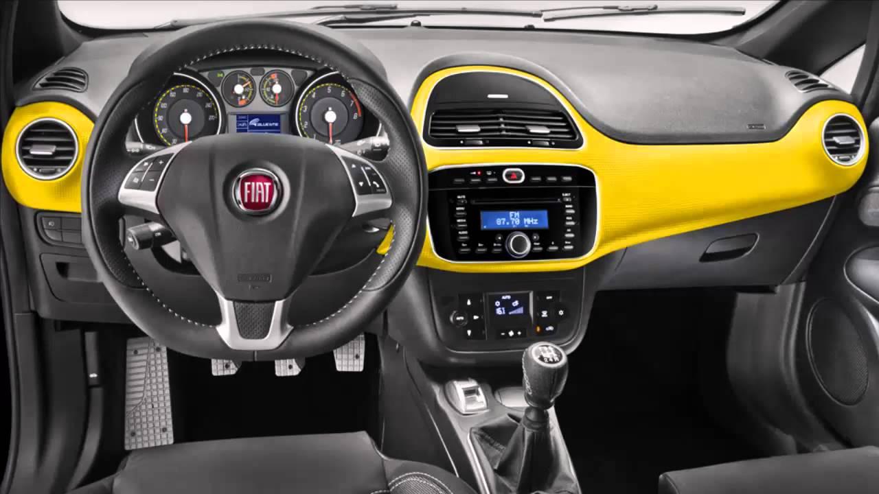 Car interior fiat punto 2013 t jet 1 youtube for Fiat punto 1 interieur