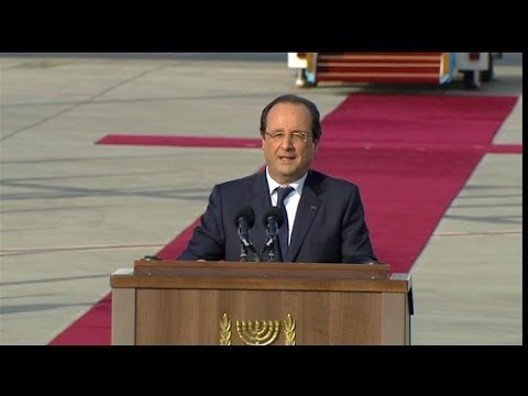 Hollande Au Peuple D'Israël: