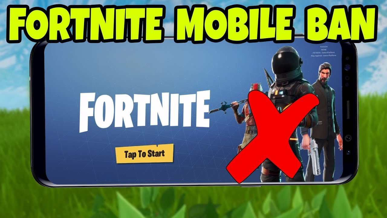 Fortnite Mobile Is Banned In School Fortnite Mobile Android Ios Download Gameplay