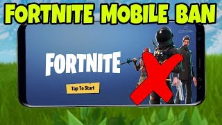Fortnite MOBILE is BANNED in School! (Fortnite Mobile Android & iOS Download Gameplay)
