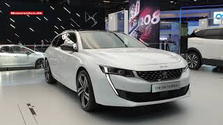 2018 Paris Motor Show Peugeot e-Legend and 508 SW Hybrid