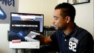 Native Instruments Traktor Scratch A6 Digital Vinyl System Unboxing & First Impressions Video