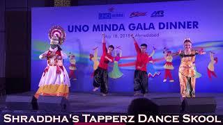 South | Naaka Mukka | Appadi Pode | Tollywood | easy steps | Shraddha's Tapperz Dance Skool