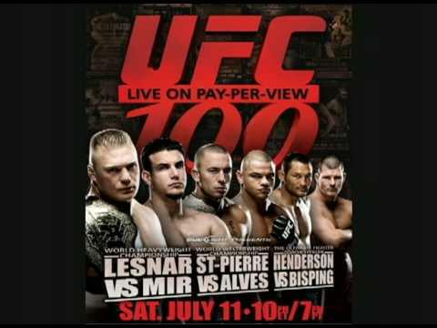 UFC 100 Official Poster +  Download Link