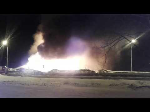 Пожар уфа интернациональная автосервис