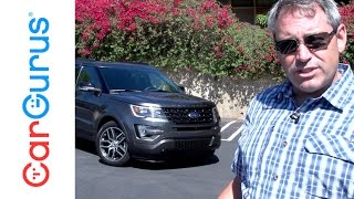 2016 Ford Explorer Sport | CarGurus Test Drive Review
