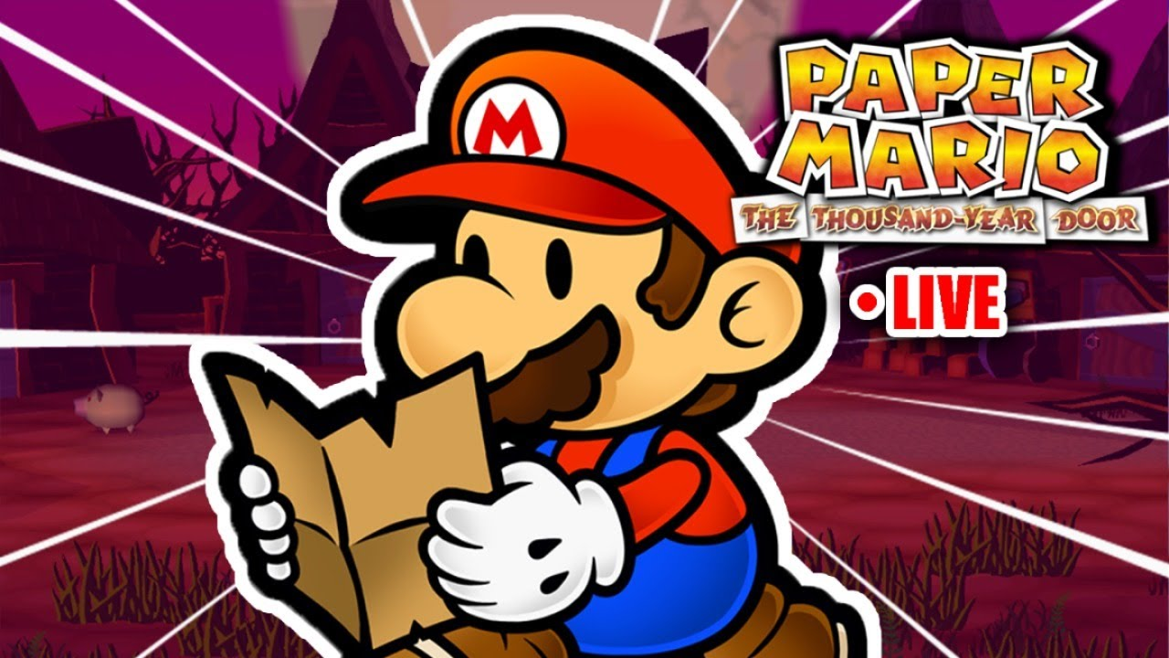 Twilight Town! | Paper Mario: The Thousand Year Door LIVE
