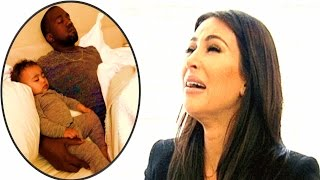 Kim Kardashian worried for kids as Kayne West in hospital