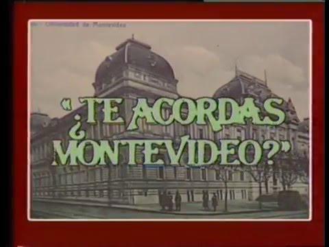 ¿Te acordás Montevideo?  Películas por radio.