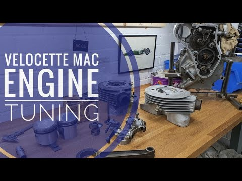 Classic Motorcycle Project - 1950s Velocette MAC - Episode 6 - Engine Tuning