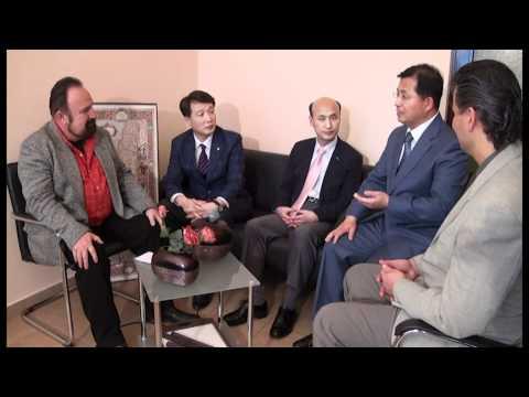 Dr. Alvin Hwang, dr.Kim and elder Noh in Bulgarian Christian TV