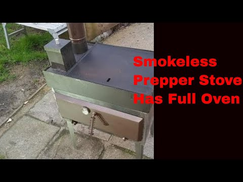 2019 Rocket Stove Prototype Oven.  Build Details part 3