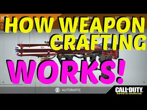 How Weapon Crafting Works in Infinite Warfare (Prototype Guns In Supply Drops)