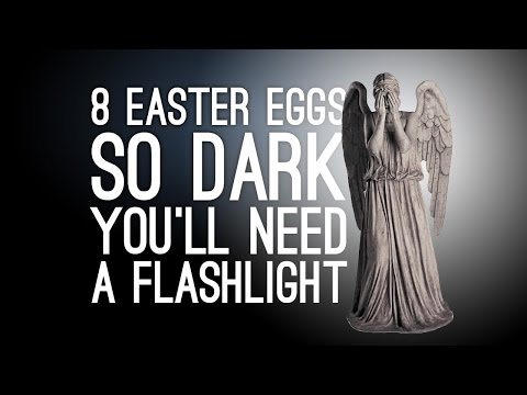 8 Easter Eggs So Dark You'll Need a Flashlight