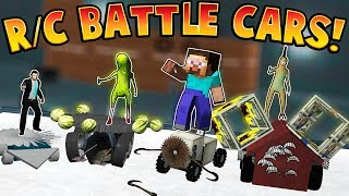BUILDING RC BATTLE CARS! | Garry's Mod Gameplay | Gmod Gameplay Funny Moments - Best RC Cars