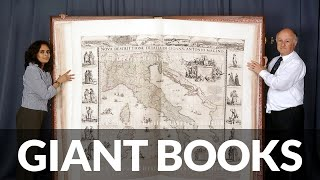 Gambar cover Giant Books Made In Tartaria & Giants Caught on Camera