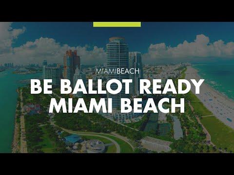 Be Ballot Ready Miami Beach November