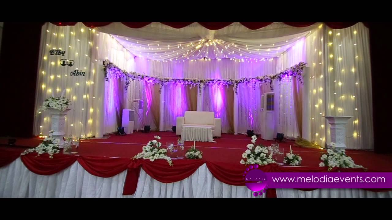 Stage Decoration Thrissur Wedding Event Management In Kerala