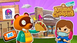 Mi TACO BELL en Animal Crossing NEW Horizons 🌮🌮| Visita de SUSCRIPTORES | Animal Crossing Español