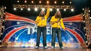 nelson twins on australia s got talent 2012