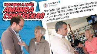 DUQUE CASI ACABA CON DOÑA AMANDA.