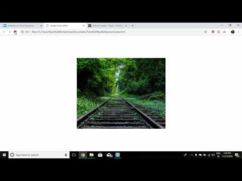 Image split hover effect with social media icon using CSS