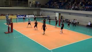 СПБ Таможня - Петергоф(3:1), финал КВЛ 2015, волейбол, Суперлига, 23.05.15