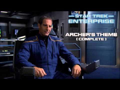 Star Trek: Enterprise Music - Archer's Theme (expanded edit)