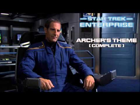 Star Trek: Enterprise Music - Archer's Theme (expanded edit)