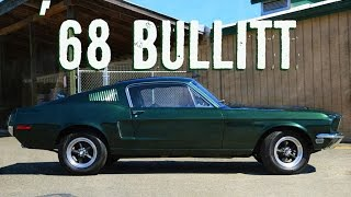 the '68 Bullitt Mustang re-creation