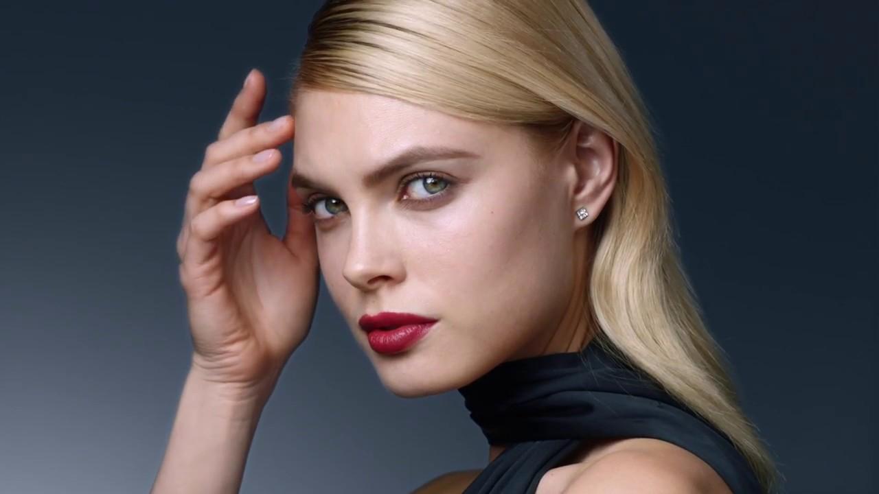 Elegant Refined Eyes Bold Lips With Cl De Peau Beaut Makeup