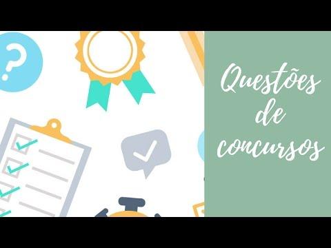 Questões de Concursos: Turbine seu aprendizado resolvendo da maneira certa (2018) de YouTube · Duração:  13 minutos 36 segundos