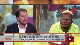 BELLO FIGO TORNA IN TV! SALVINI VS BELLO FIGO