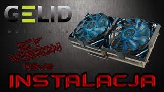 Gelid Icy Vision rev2 - instalacja coolera na kartę graficzna