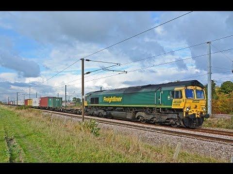 ECML Freight Diverts - Werrington Junction 22/10/2016